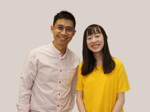 Mr Koh Chee Wee and Genevieve Lim Yen Tong