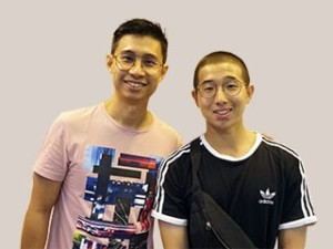 Mr Koh Chee Wee and Teo Chen Rei Rayson