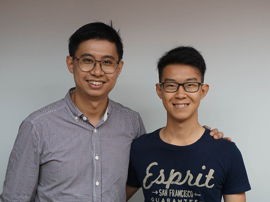 Hin On with Mr Koh Chee Wee
