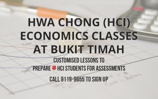 HCI Econs Classes at Bukit Timah