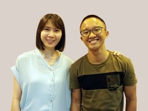 MS Ruby Ng and Lim How Boon Jeremy