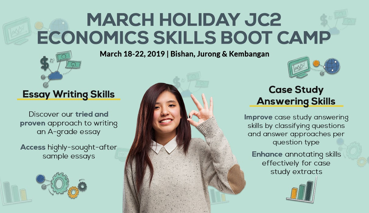 March Holiday JC2 Economics Skills Boot Camp