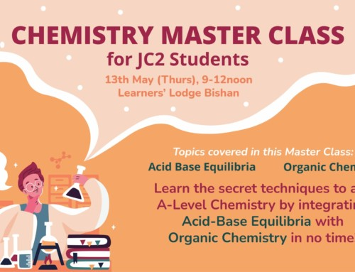 Chemistry Master Class for JC2 Students