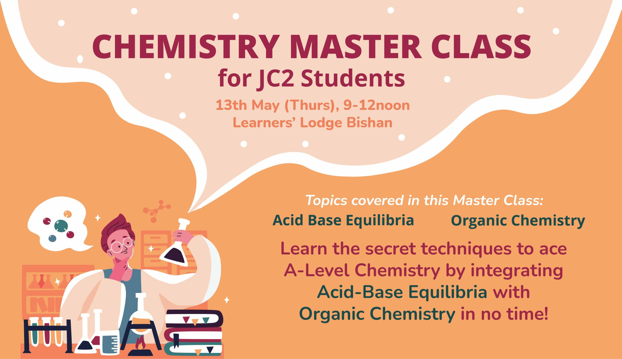 Chemistry Master Class with Mr Au Chee Ping